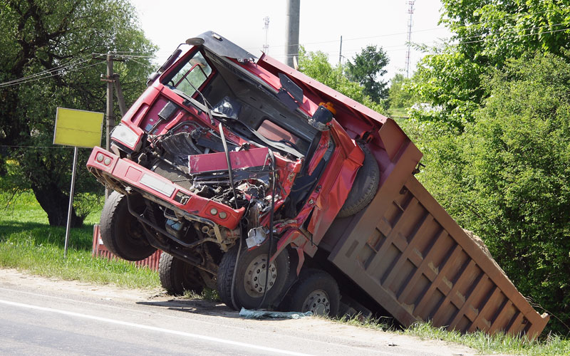 Why is lack of sleep the most common cause of truck accidents?