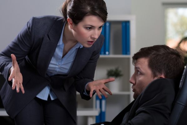 When a Man is Sexually Harassed in the Workplace