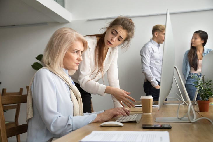 Is It Age Discrimination If An Older Worker Is Replaced By A Younger Worker Who's Over 40?